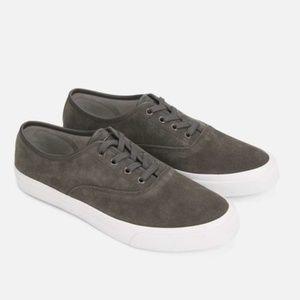 Kenneth Cole Grey Combo Toor Low Top Sneakers